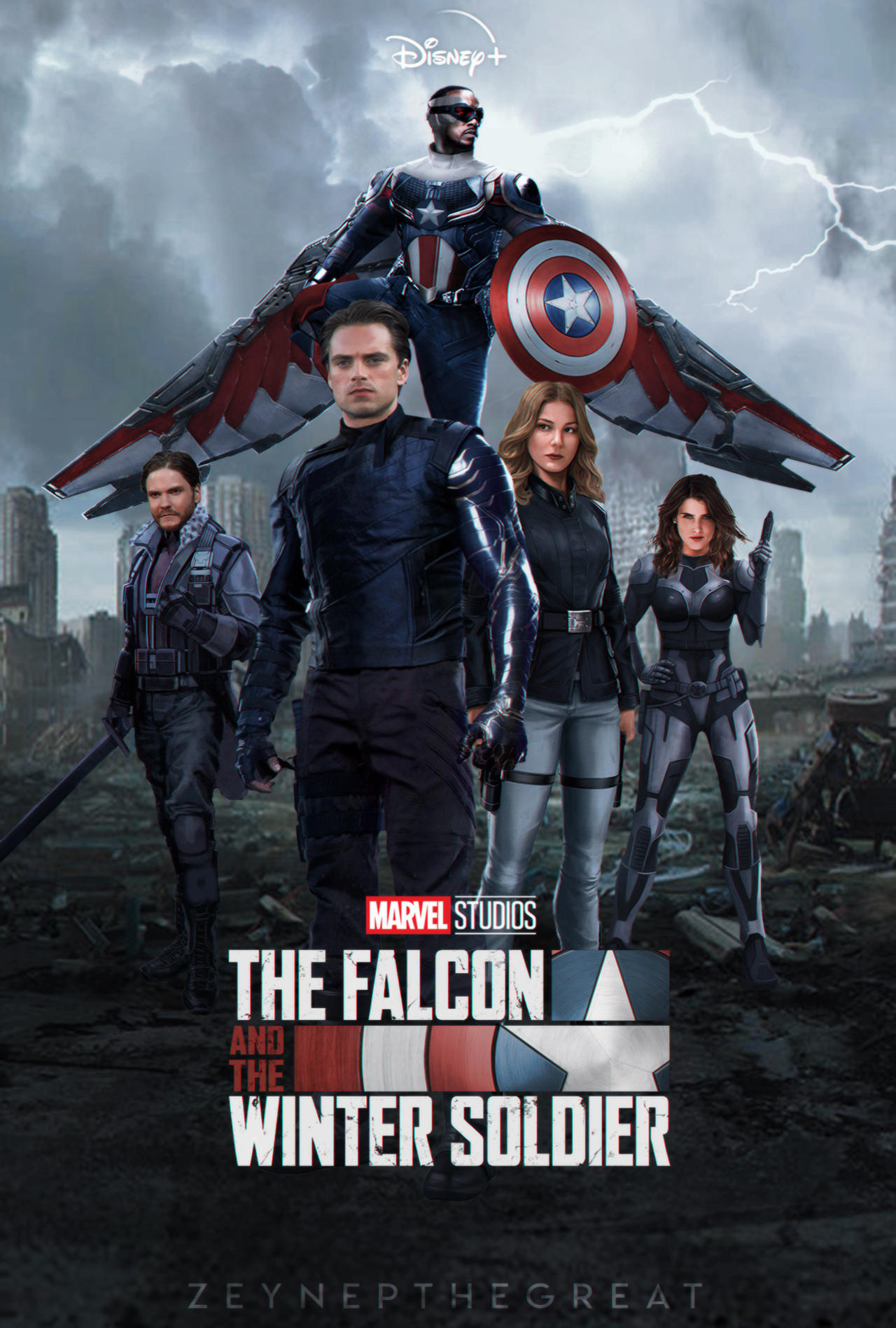 The Falcon and the Winter Soldier İzle